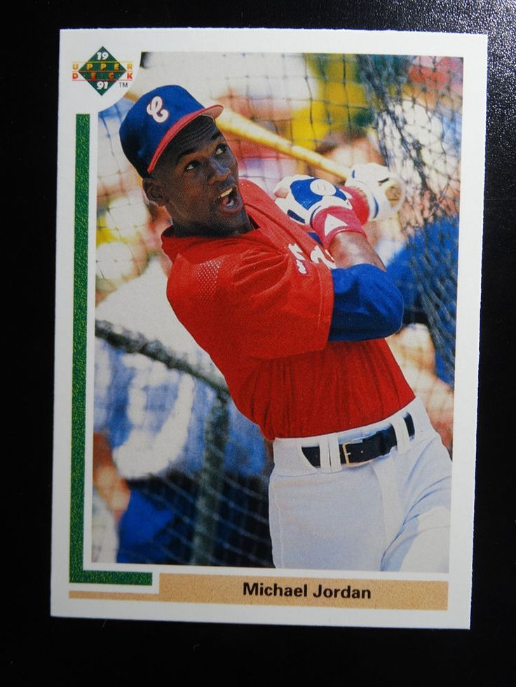 1991 upper deck sp1 michael jordan chicago white sox rc