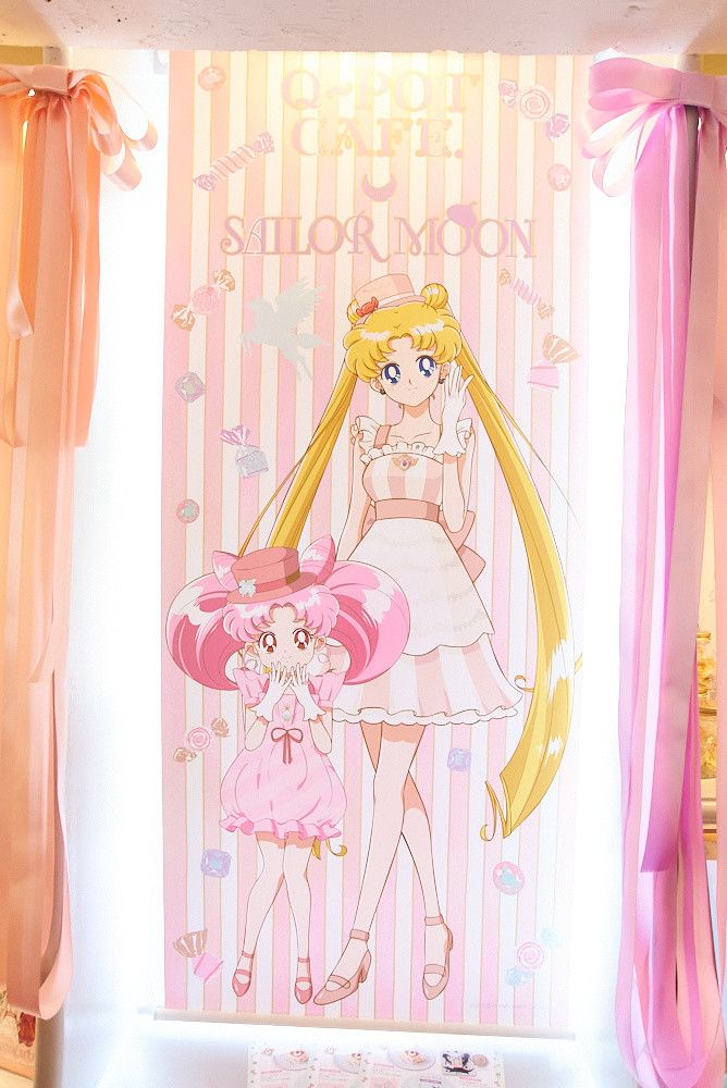 Spend A Day With Pretty Guardians At Incredible Q Pot Cafe X Sailor Moon Collab 12 Sailor Chibi Moon Sailor Moon Sailor Moon Cafe