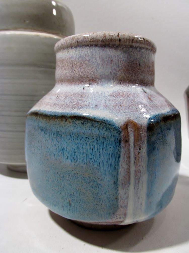 Midcentury Mark Zamantakis Colorado Studio Pottery Vase 3 Danish Modern Ebay Pottery Vase Danish Modern Pottery