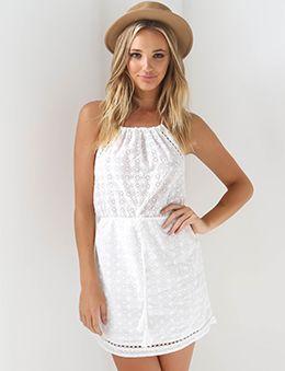Angel Rays Mini Dress