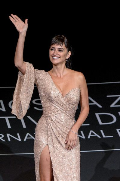 Penelope Cruz attends the 'Loving Pablo' photocall during  the 65th San Sebastian Film Festival.