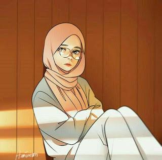 contoh karakter kartun hijab yang unik dan menarik (Dengan