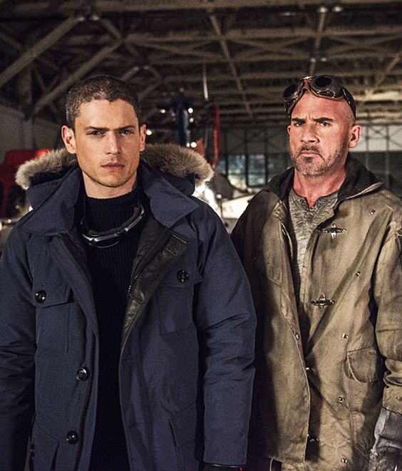 Leonard Snart with Mick Rory