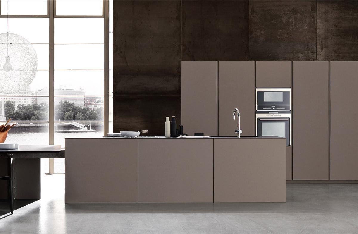 light kitchen by modulnova Front: Kerlite by Cotto d este | Kerlite ...