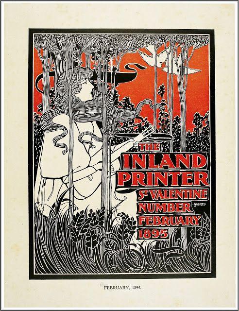 1895 — Art Nouveau — William H. Bradley (1868-1962 ...