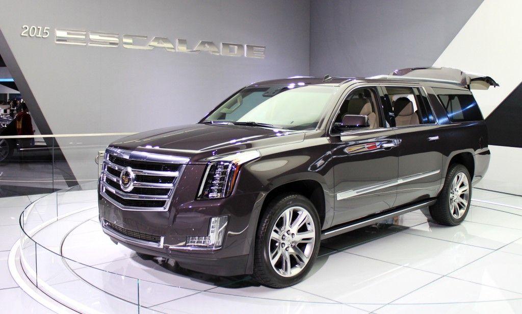 2015 cadillic  2015 Cadillac Escalade More Power Luxury