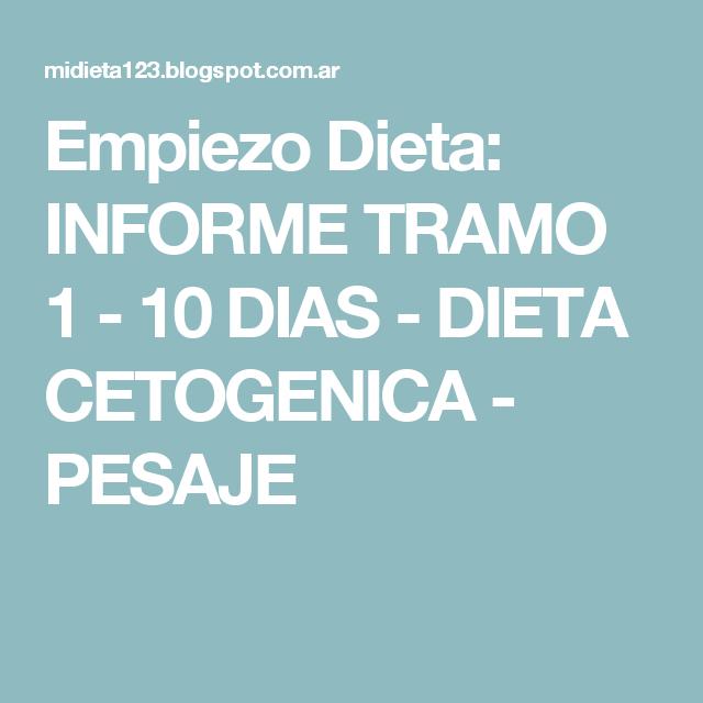Dieta cetogenica cuantos kilos se pierden en el primer tramo