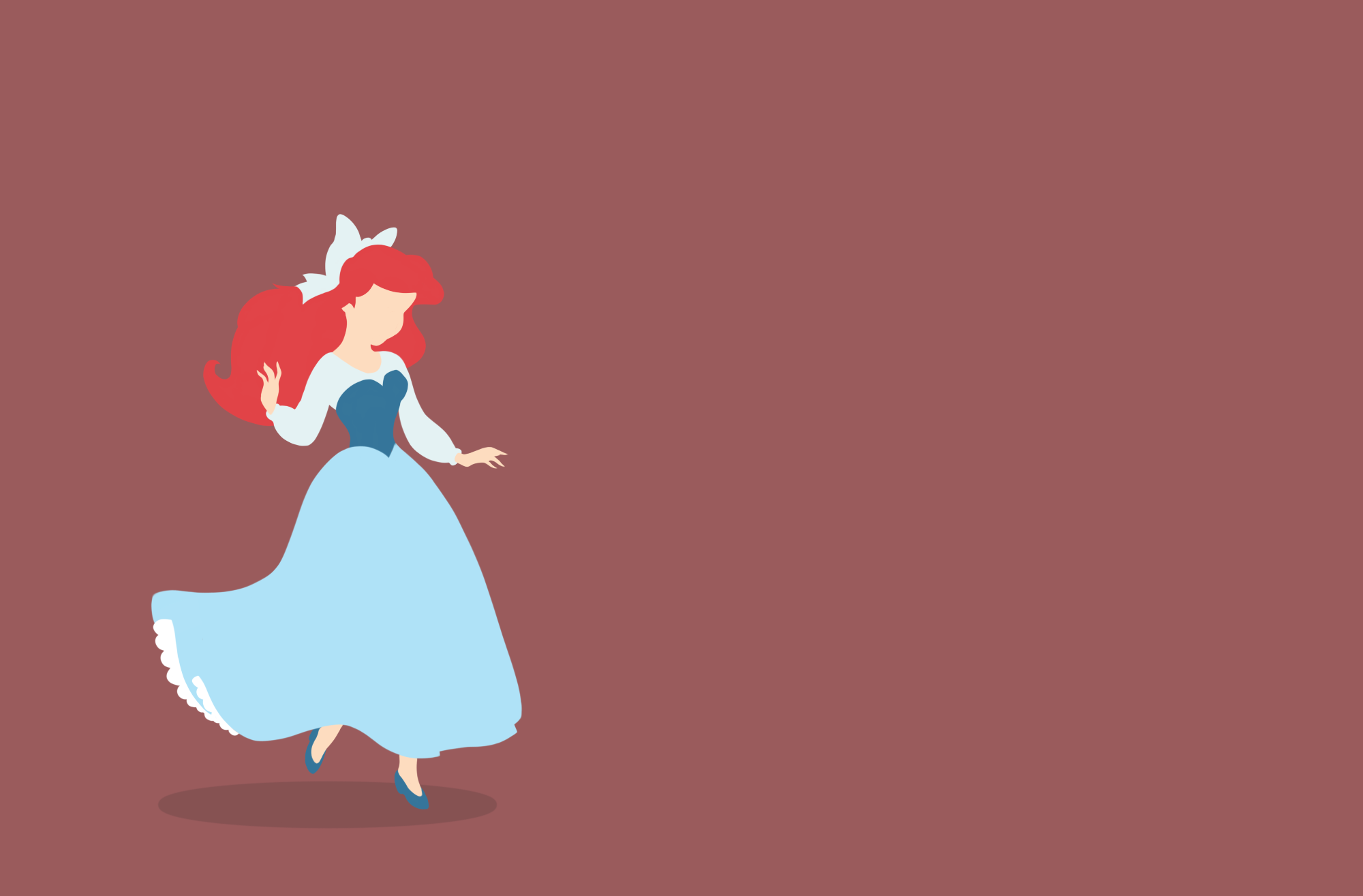 Disney Princess Ariel Wallpaper The Little Mermaid Drawn By Milena Kuhn Disney Desktop Wallpaper Little Mermaid Wallpaper Disney Princess Wallpaper