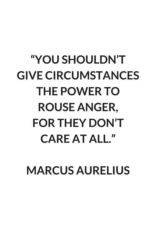 Philosophy Quotes Marcus Aurelius On Anger  Stoic Philosophy Quote' Art Print.