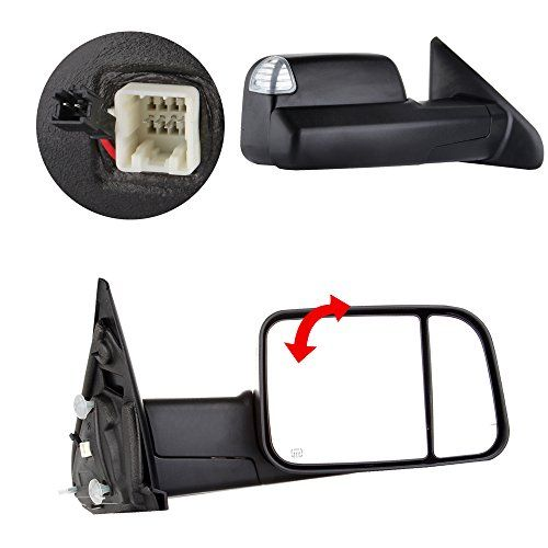 For 02-08 Dodge Ram 1500 03-09 2500 3500 Towing Mirrors Power Heated Signal Pair