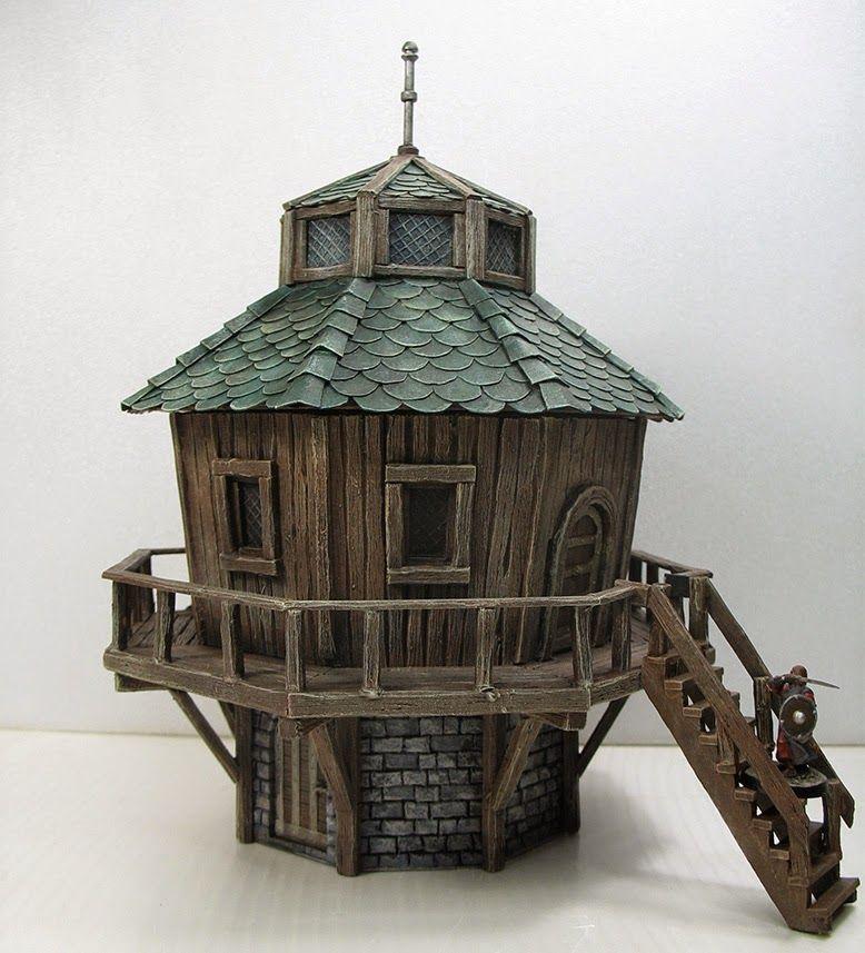 Eccomi Dunque Arrivato Anche Quest Anno Al Traguardo Del 3 Trofeo Dei Minimondi Come Ho Detto Nel Post Inizial Concept Art Videogame Diorama Case Di Cartone
