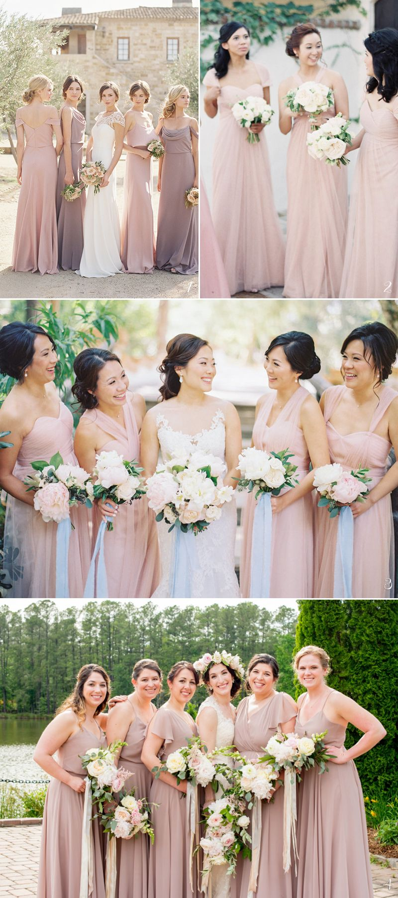Trend Report 5 Best Bridesmaid Dress Colors For Spring 2018 Neutral Bridesmaid Dresses Summer Bridesmaid Dresses Bridesmaid Colors [ 1806 x 800 Pixel ]