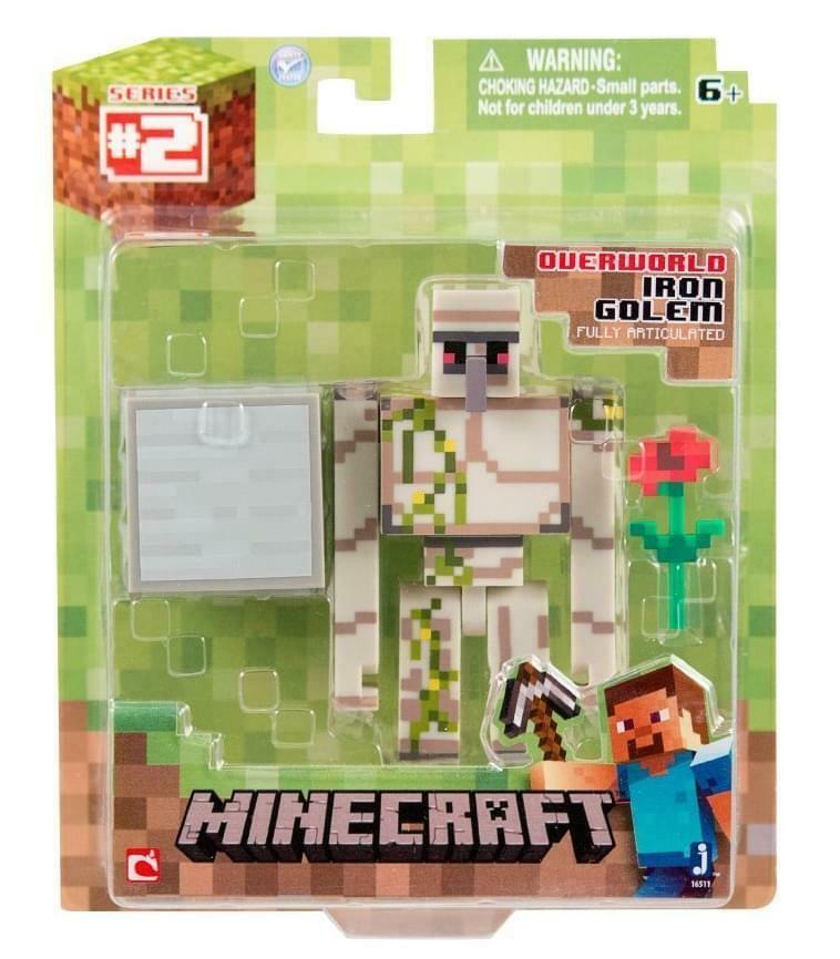 Minecraft Population Iron Golem Figure