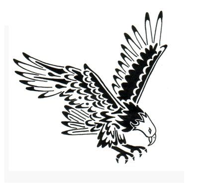Gallery For Native American Eagle Tattoo Designs Birds Pinterest