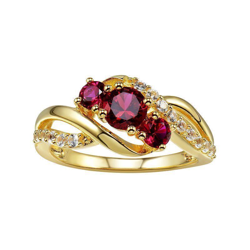 Naturel rubis emeraude saphir 14K or Rose Plaque Sterling 925 Bracelet en argent