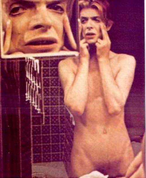 David Bowie Nakne Bilder