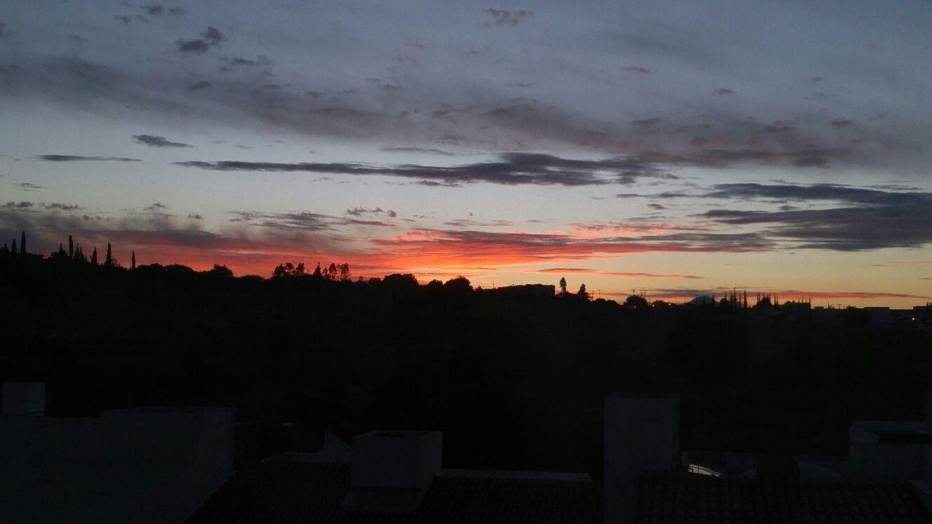 Amanecer de octubre en Juriquilla