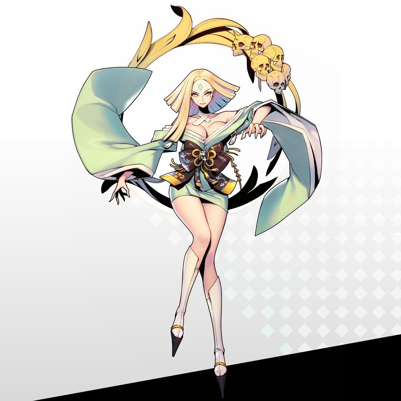 Artstation 凛妖殿 Character Concept Art Female Side Ryushin