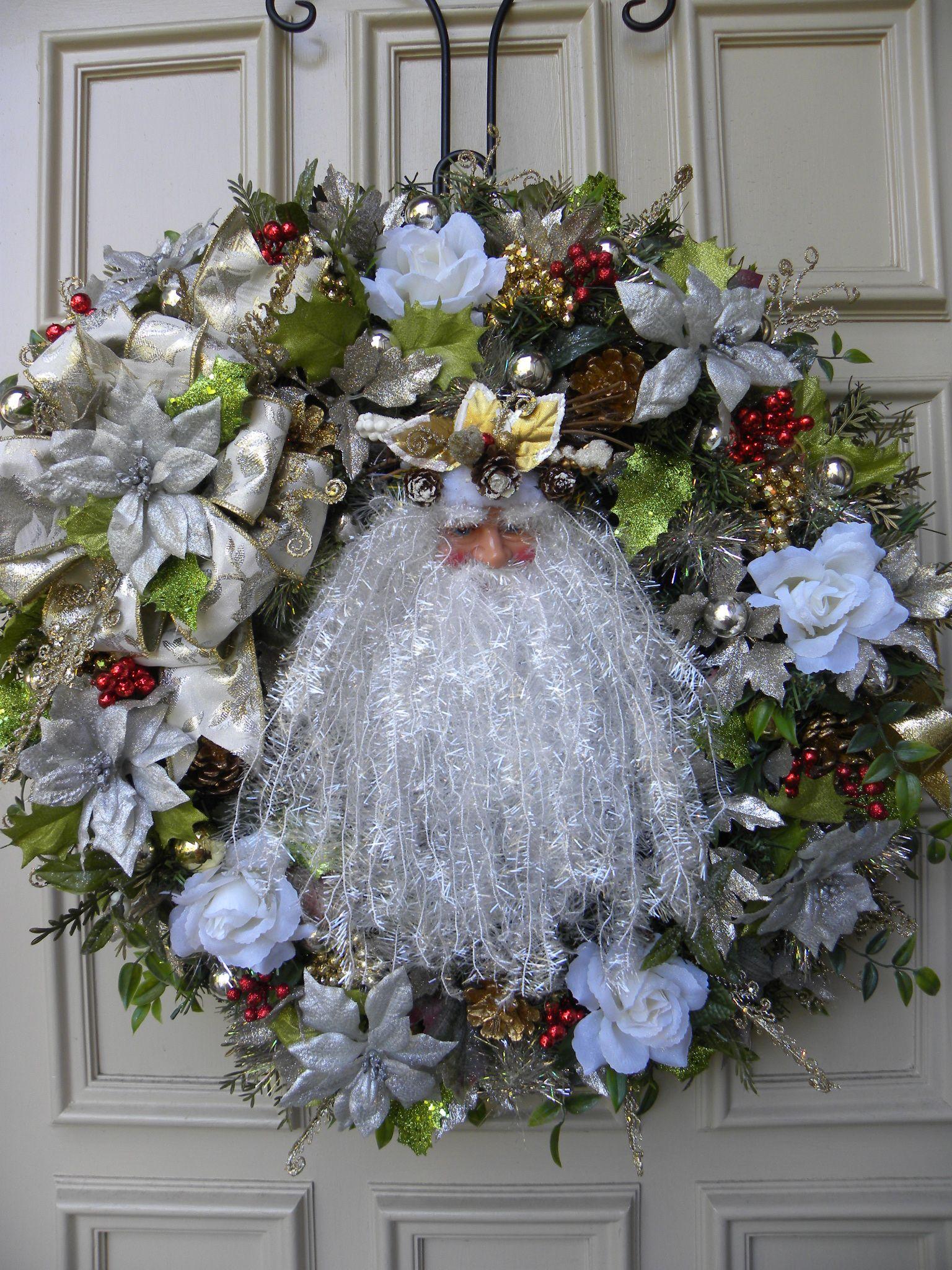 Front door wreath wreath ideas pinterest for Front door xmas wreaths