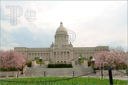 Kentucky State Capitol Building In Frankfort Kentucky Usa Royalty Free Stock Picture Kentucky State Capitol Capitol Building Building