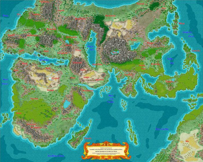 World Map Making Software.Profantasy Software Reviews Fantasy World Pinterest