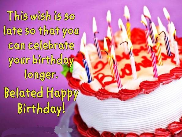 Happy Belated Birthday Wishes Spiritual ~ Pin by shaheen shafique on happy birthday images pinterest happy