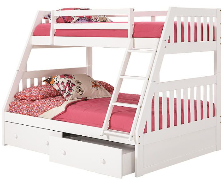 Hillary Twin Over Full Bunk Bed New Room Bunk Beds Full Bunk