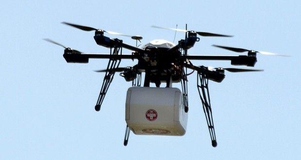 La startup Flirtey teste la livraison de médicaments par drone