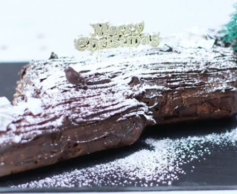 Yummy chocolate log   Recipe   Chocolate log, Yule log, Bbc good food recipes