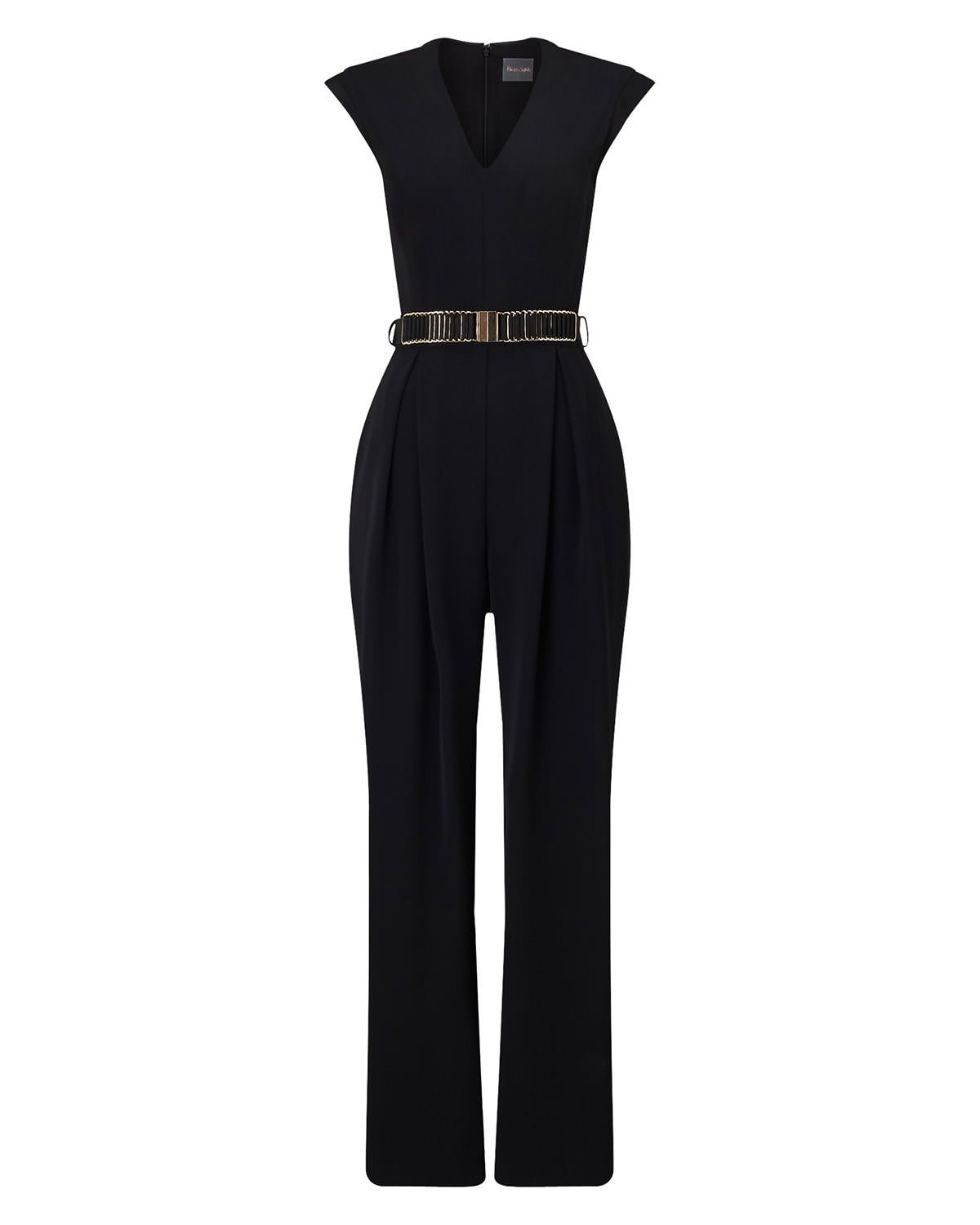 20d27050b0 Phase Eight Adelaide Belted Jumpsuit Black