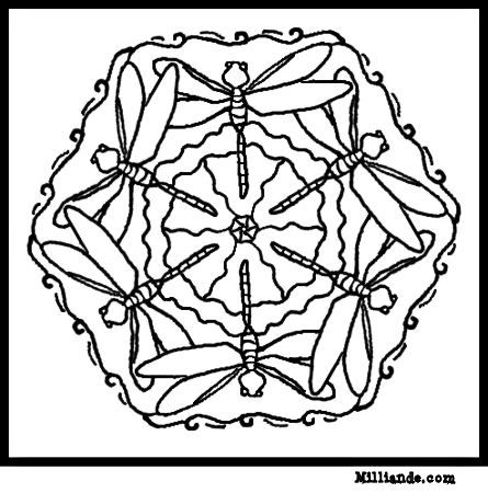 Free Printable Mandala Coloring Pages mandala coloring pages out