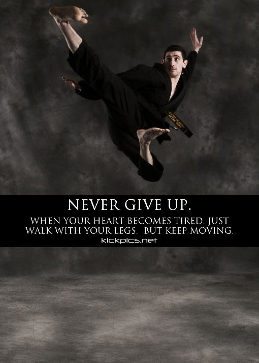 #nevergiveupquotes