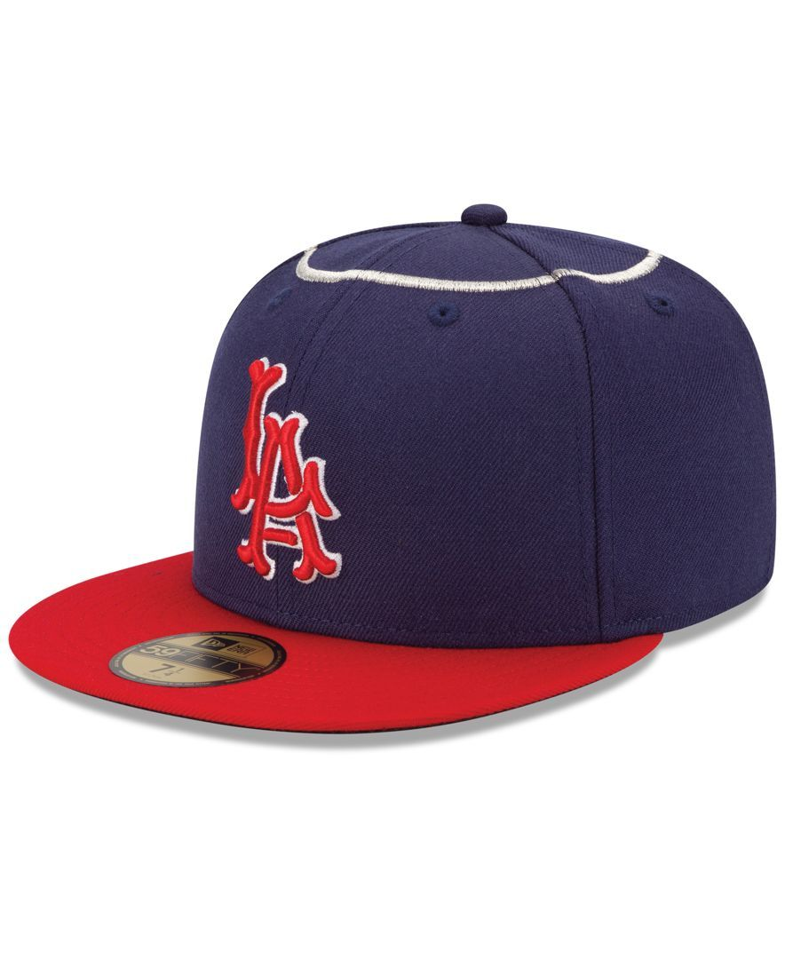 6f795252 New Era Los Angeles Angels of Anaheim On-Field 59FIFTY Cap ...