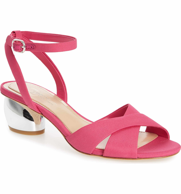 3be87e68e5f0 Main Image - Imagine by Vince Camuto Leven Sandal (Women) Strappy Block  Heel Sandals