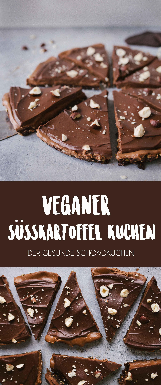 Veganer Susskartoffel Schokoladenkuchen Recipe Rezepte