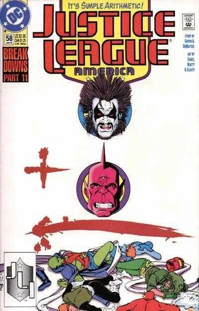 Justice League America #58 - Mayhem