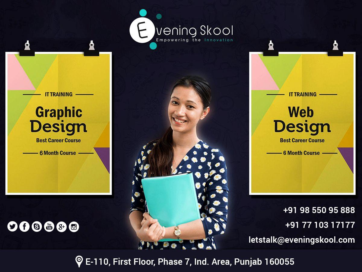 Let Us Inspire Impress And Transform The World With Visualizing Ideas Address E 110 Web Development Training Digital Marketing Training Web Graphic Design