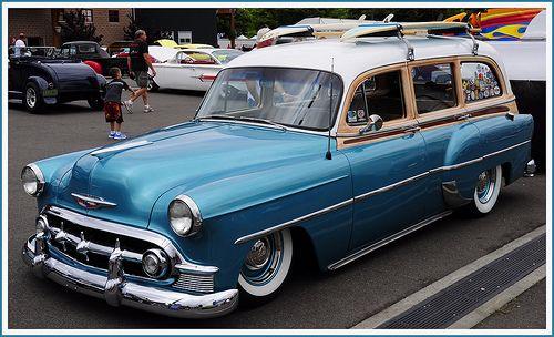 1953 Chevrolet Woody Wagon Chevrolet 1940 1954 Woody Wagon
