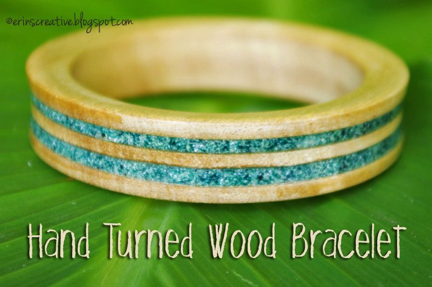 *Tutorial by Erin for the DIY Jewelry challenge of season 12* I am very excited to share with you how to hand turn a wood bracelet.  I understand that not everyone will have the tools to do this, but maybe some of you do or know someone who does. You will need a lathe or […]