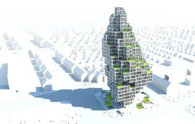 Villa vertical