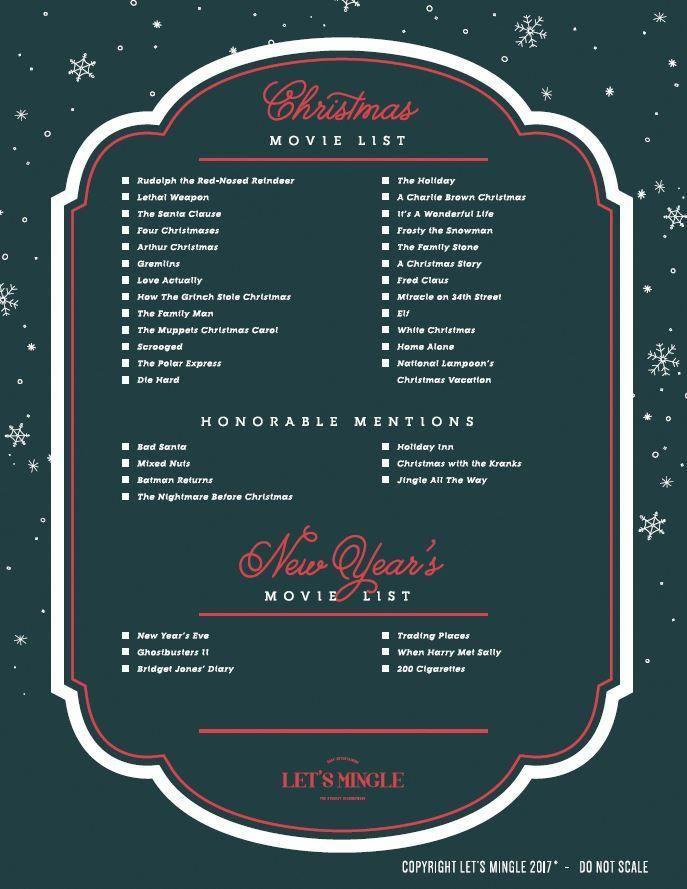 Printable Christmas Movie List Traditionaldecorsouthern Christmas Movies List Christmas Movies Christmas Prep