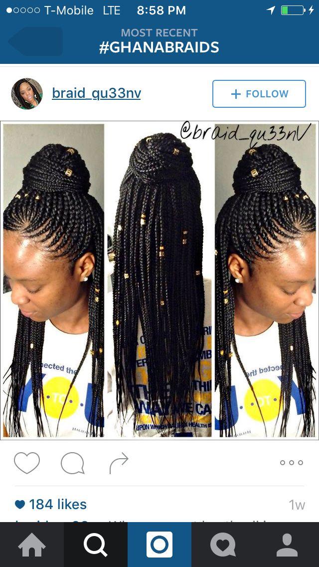 Scalp Braids Individuals Braids For Short Hair Hair Styles Braided Hairstyles