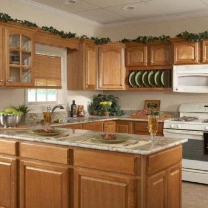 Kitchen Oak Cabinets Design Ideas Kitchen Cabinets In 2019