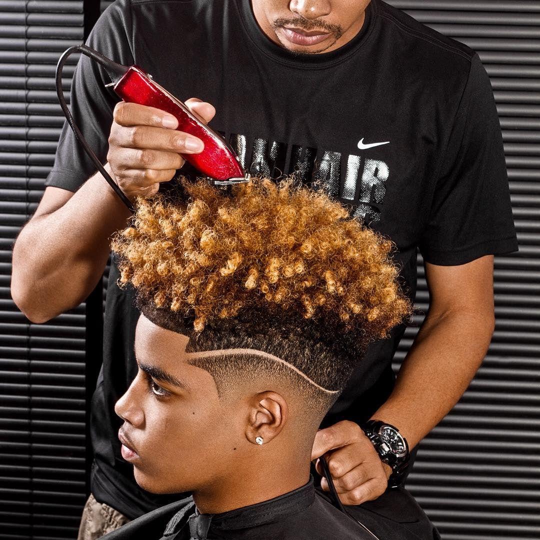 Black men hair dye - Men Hair Styles Hair Tutorial With Luxy Hair On Kassinka