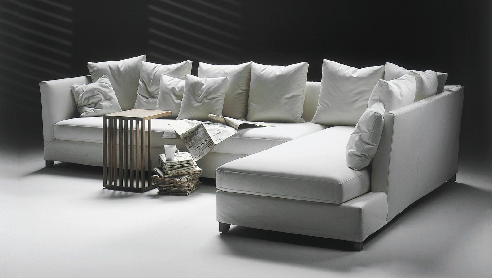 Contemporary Corner Sofa Victor Flexform Modern Sofa Sectional