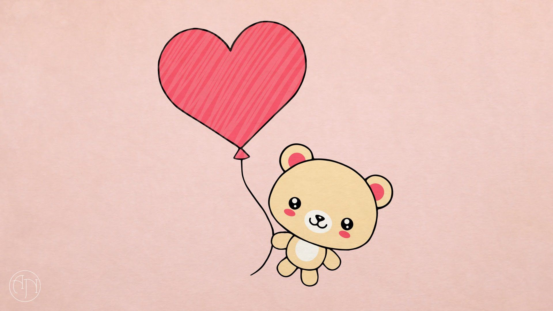 How To Draw Valentine S Day Present Teddy Bear With Heart B