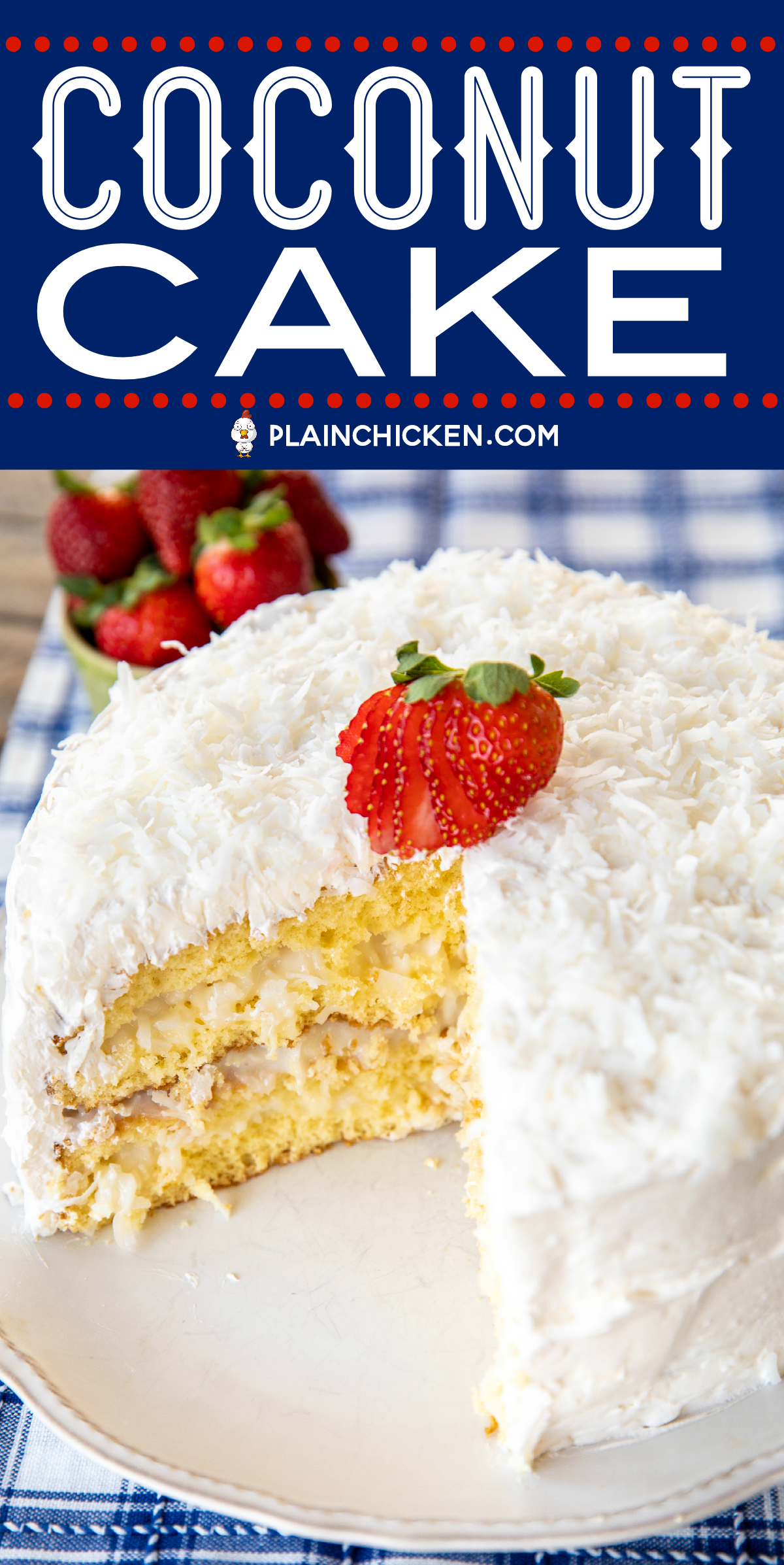Coconut Cake The Sour Cream Cool Whip Frosting Makes This Cake It Is Amazing So Easy To Mak Sour Cream Coconut Cake Coconut Cake Recipe Coconut Cake Easy