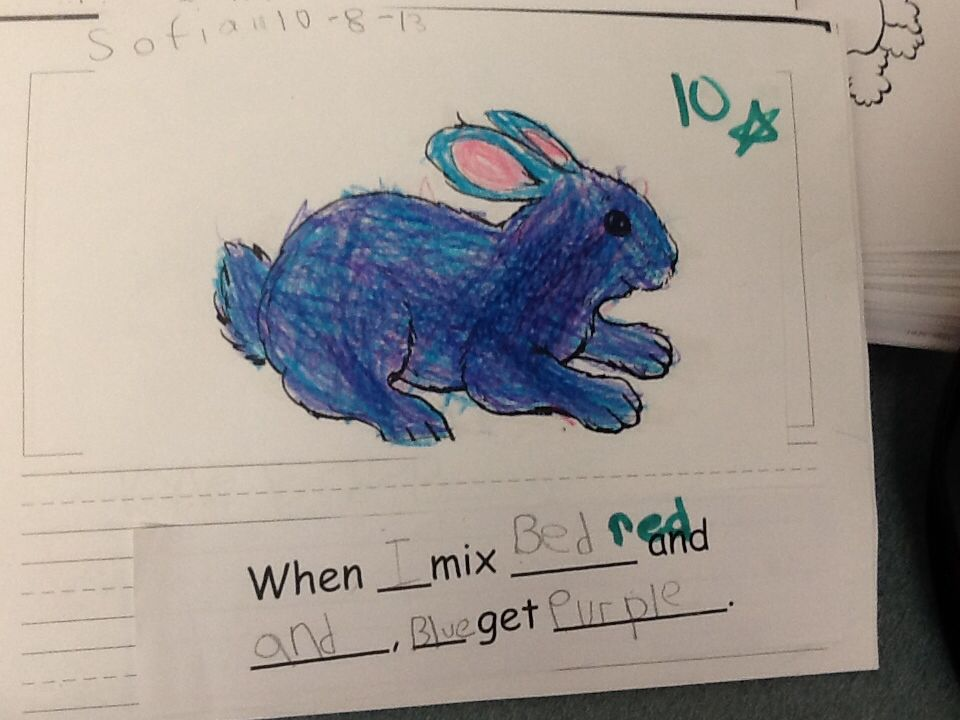 White Rabbit\'s Color Book activity Focus on mixing colors and ...