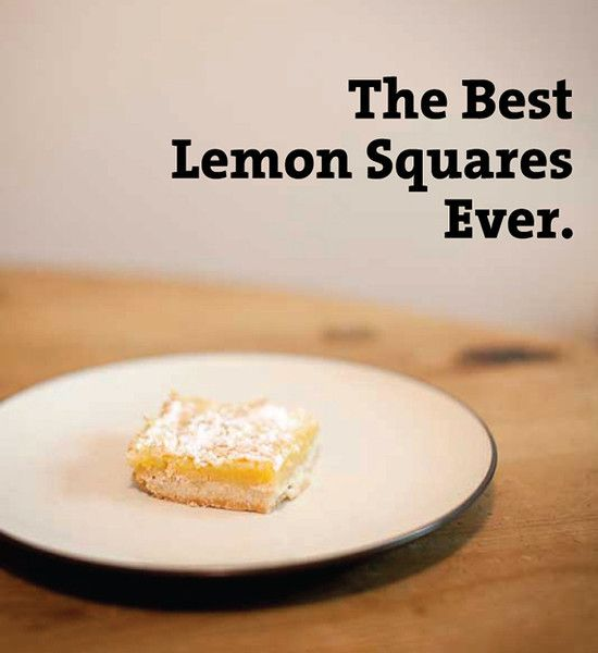 The Best Lemon Squares Ever - Mama Say What?!