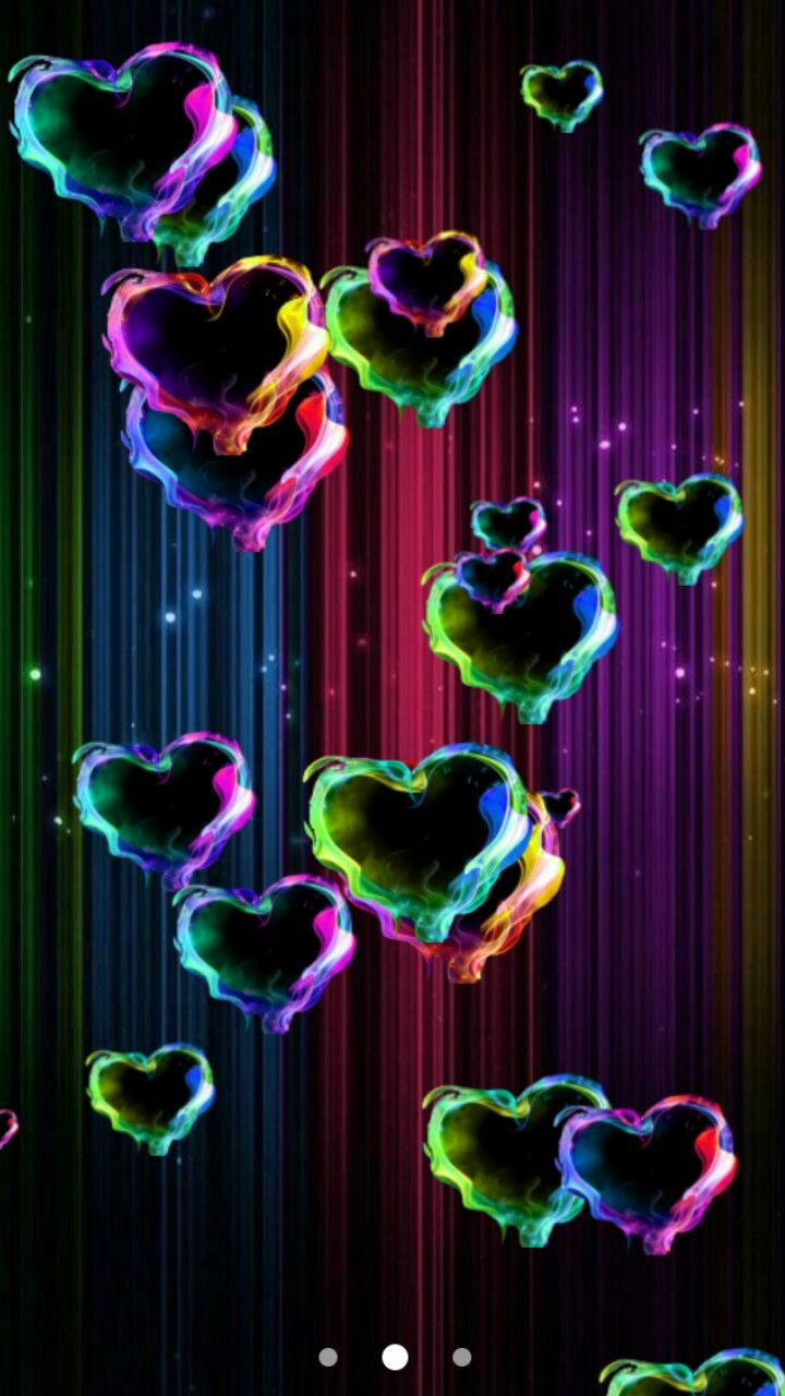 Magic hearts live wallpaper google play store | Wallpapers | Pinterest | Coeur, Amour et Coeurs ...